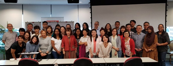Welcome new TA Practitioners from Singapore